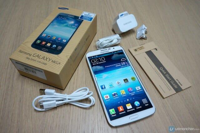 Samsung GALAXY Mega 19