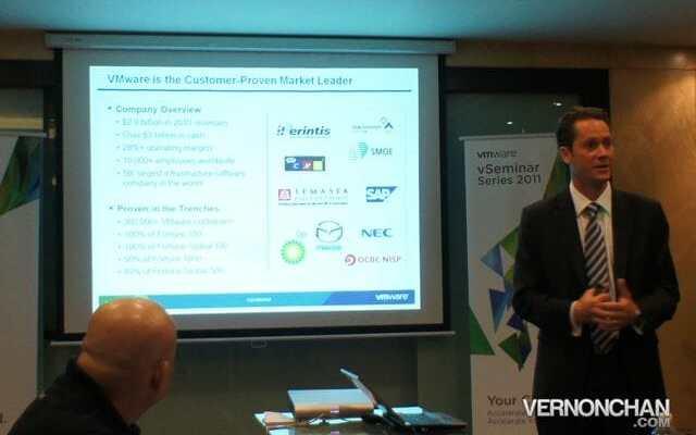 Ed Lenta, General Manager VMWare ASEAN