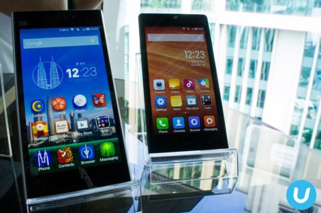 Xiaomi Mi3 and Redmi 1S