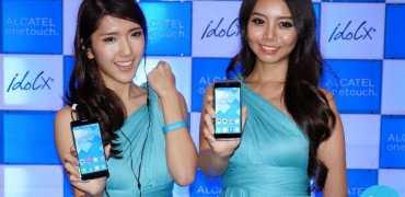 Alcatel OneTouch Idol X+ launch