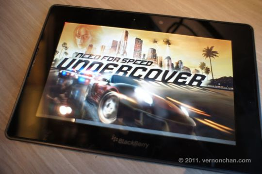 BlackBerry PlayBook Media Preview