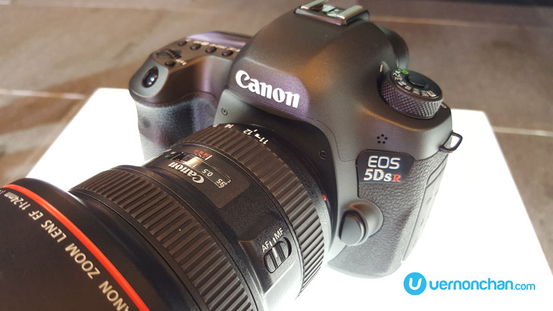 Canon 5DS R launch