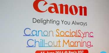 Canon Camera launch
