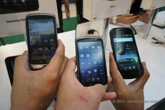 Nexus One vs Nexus S