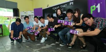 """Tukar Tak Tukar"" Campaign by P1. Image credit: Moses"