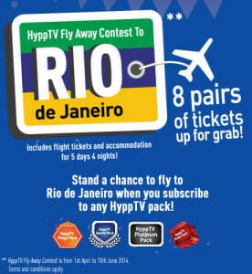 Win a trip to Rio!