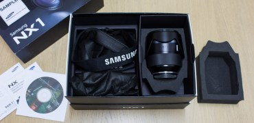 Samsung NX1 unboxing