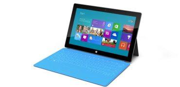 Microsoft Surface with Windows RT. Image credit: Microsoft