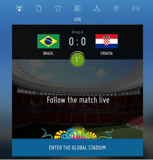 FIFA.com mobile app