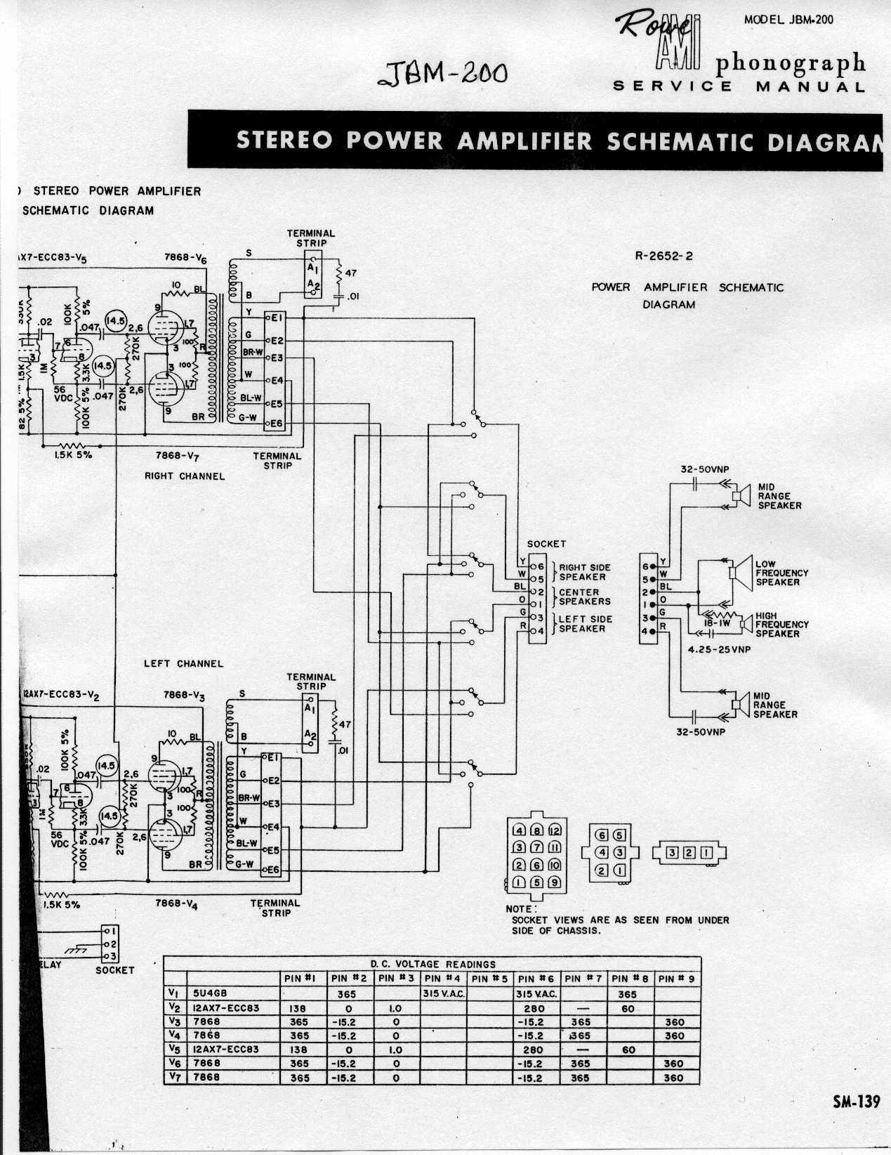 Rowe R A Amplifier