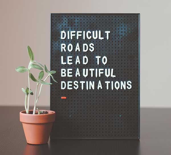 Difficult Roads Lead To Beatiful Destination-Vero Beach Recovery Center - Addiction
