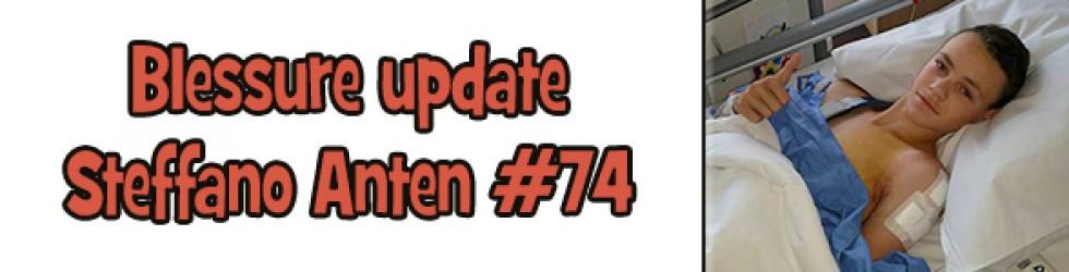 Blessure update Steffano
