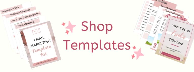 Shop Templates