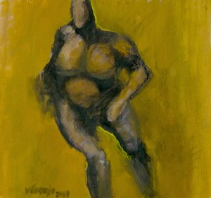 One important thing to achieve in drawing or painting the human body is the dynamism that the figure must have, no matter if it is at rest or in movement.