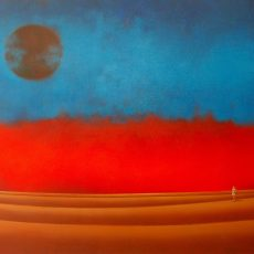 "I Am 48x72"" Acrylic on canvas, 2010  SOLD"
