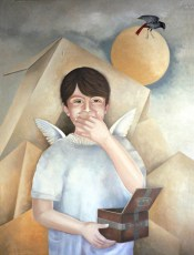 "Daniel  40x30"" Oil in canvas, 2007"