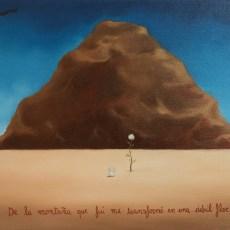 """Una debil flor 12x9"""" Oil on canvas 2011"""
