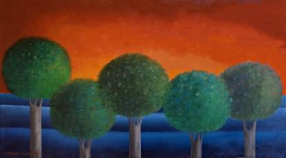 Homage to Casa de Cultura POP Oil on canvas 2014