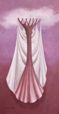 """The Bride 24x12"""" Oil on canvas, 2006  SOLD"""