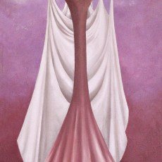 "The Bride 24x12"" Oil on canvas, 2006  SOLD"