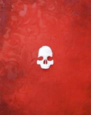 """Carlito 30x24"""" Mixed media on canvas 2007"""