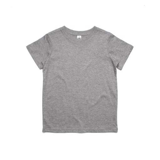 Kids Tee - Grey Marle