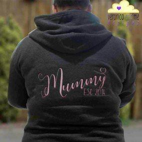 Mummy Est 2014 Hoodie