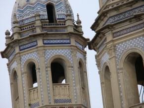 Desde plaza Dorrego - Detalle cúpula II - San Telmo