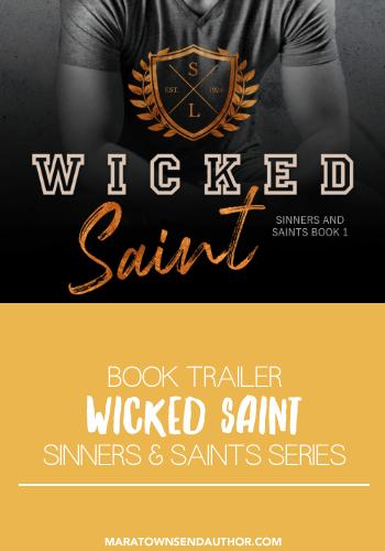 wicked saint book trailer