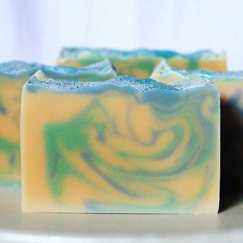 Lemongrass and Lime Vegan Soap, made in Tasmania