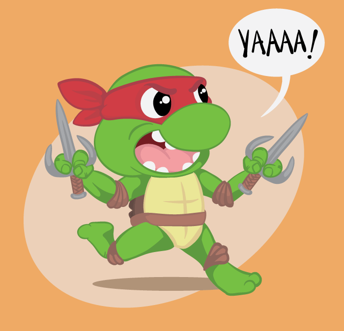 Raph is on the Attack!