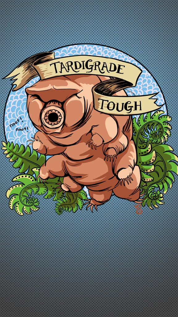 Tardigrade iPhone background
