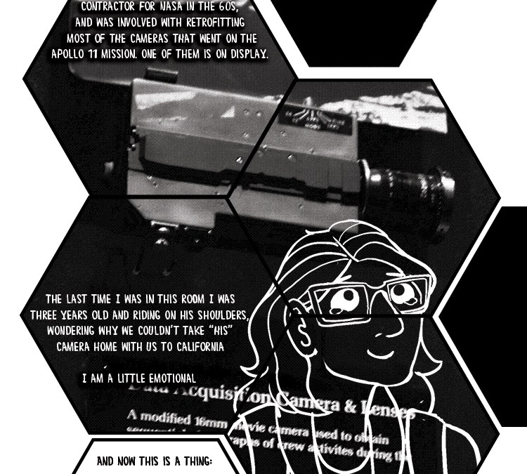 What I Can See, Page 5: Dad's Camera