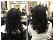 brazilian blowout black hair