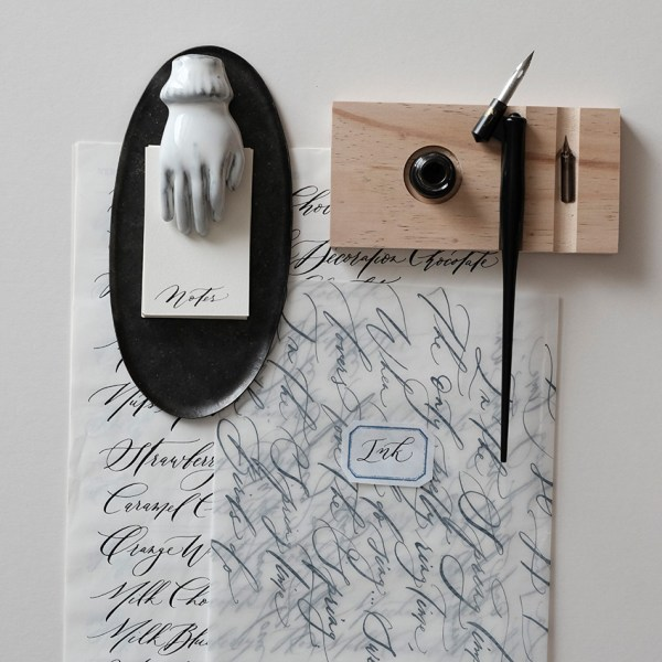 Modern Calligraphy And Cookie Labels Veronica Halim