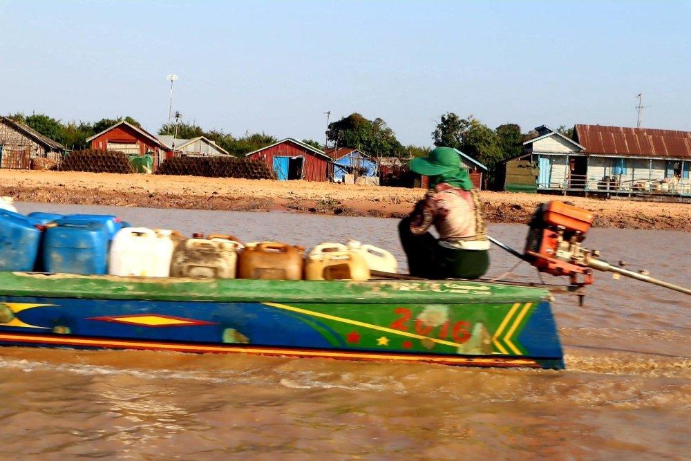villaggio galleggiante