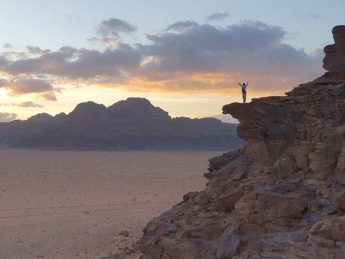 tramonto al Wadi Rum
