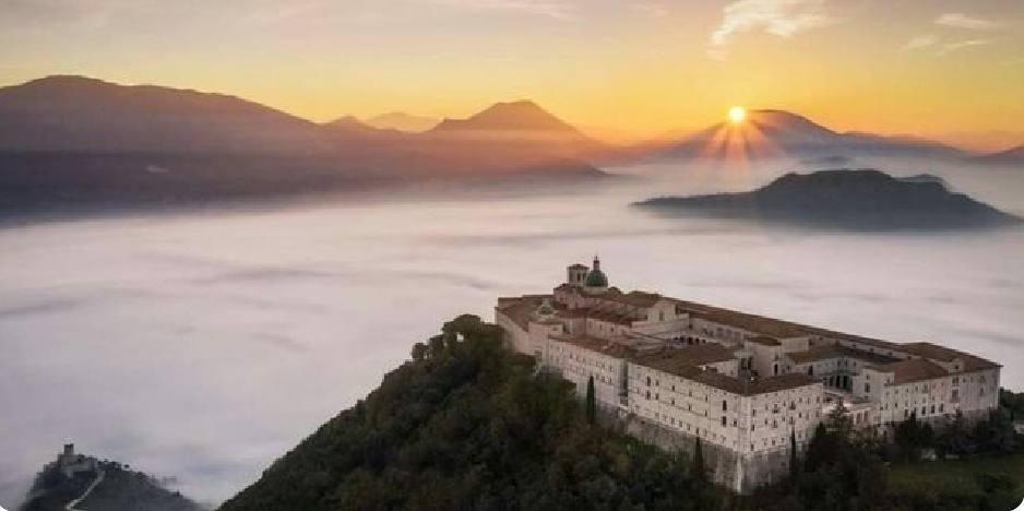 Panorama abbazia Montecassino