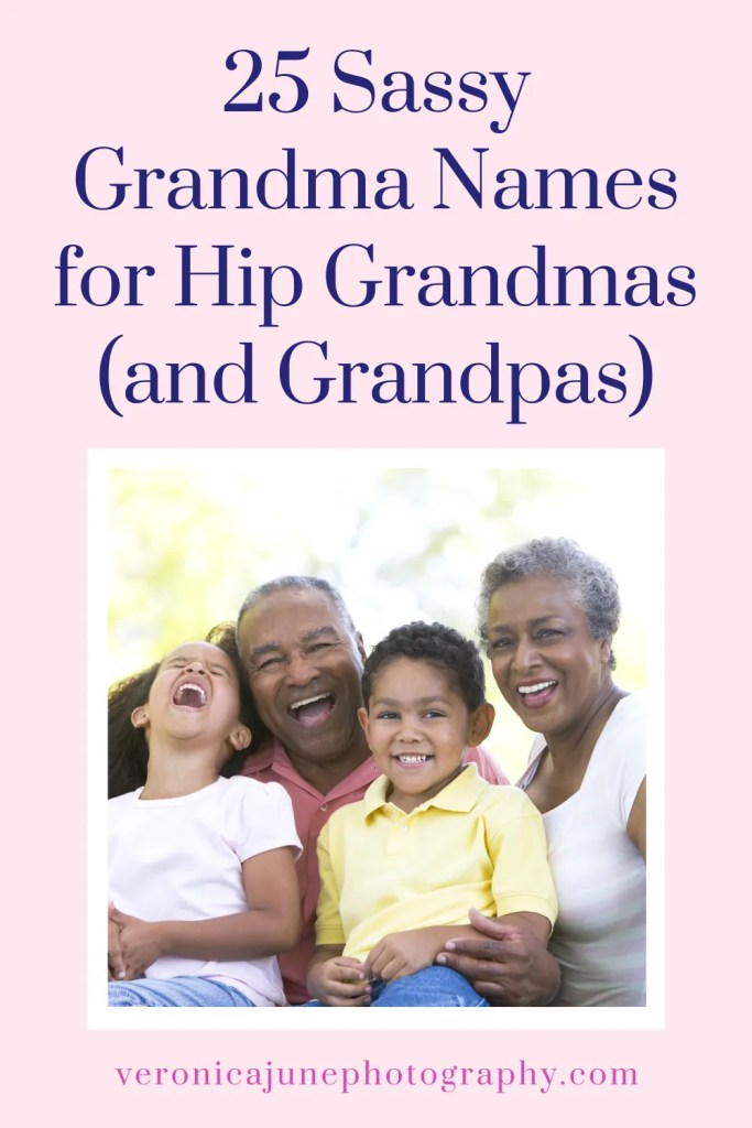 PIN image for Sassy Grandma Names