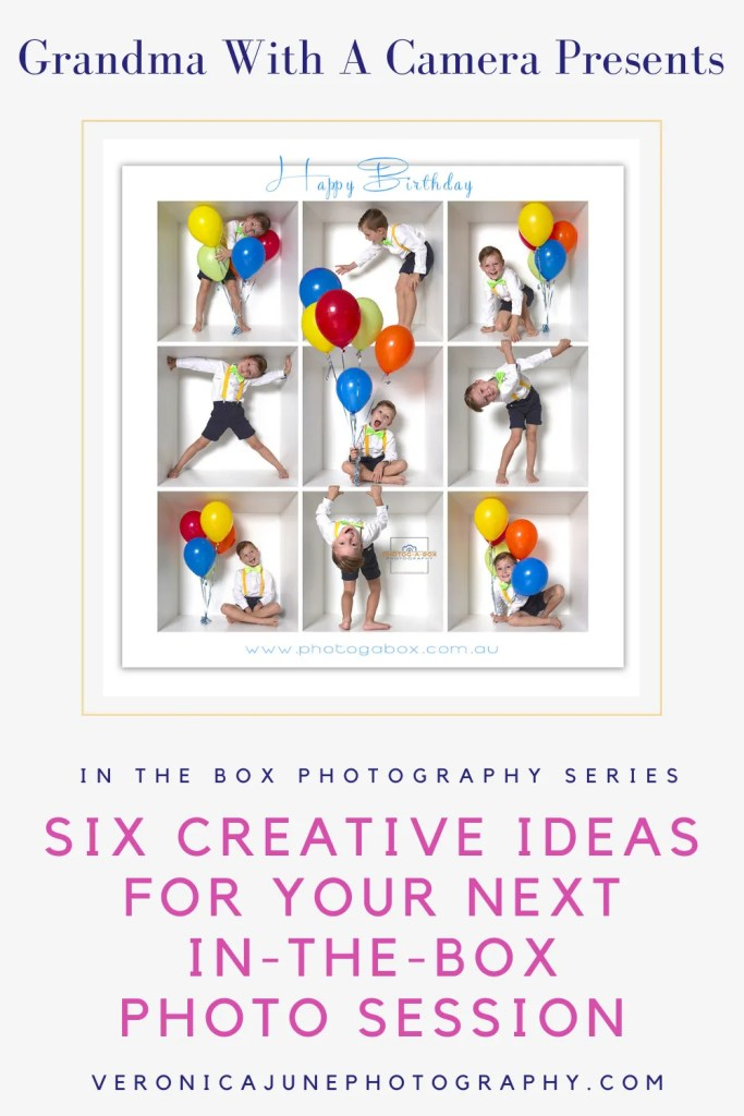 PIN image for creative in-the-box photography