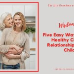 Ad image for Child adult relationships showing a mom and adult daughter in a kitchen