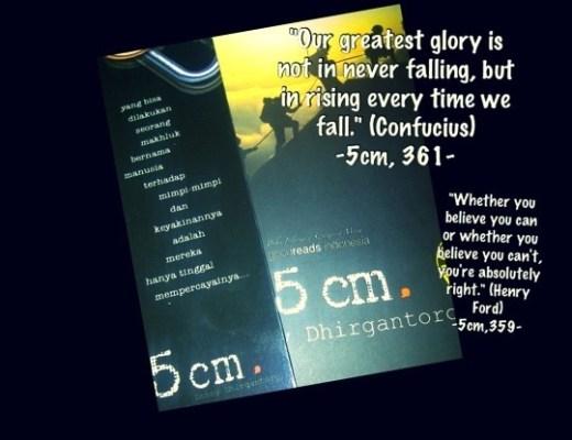 5 cm book