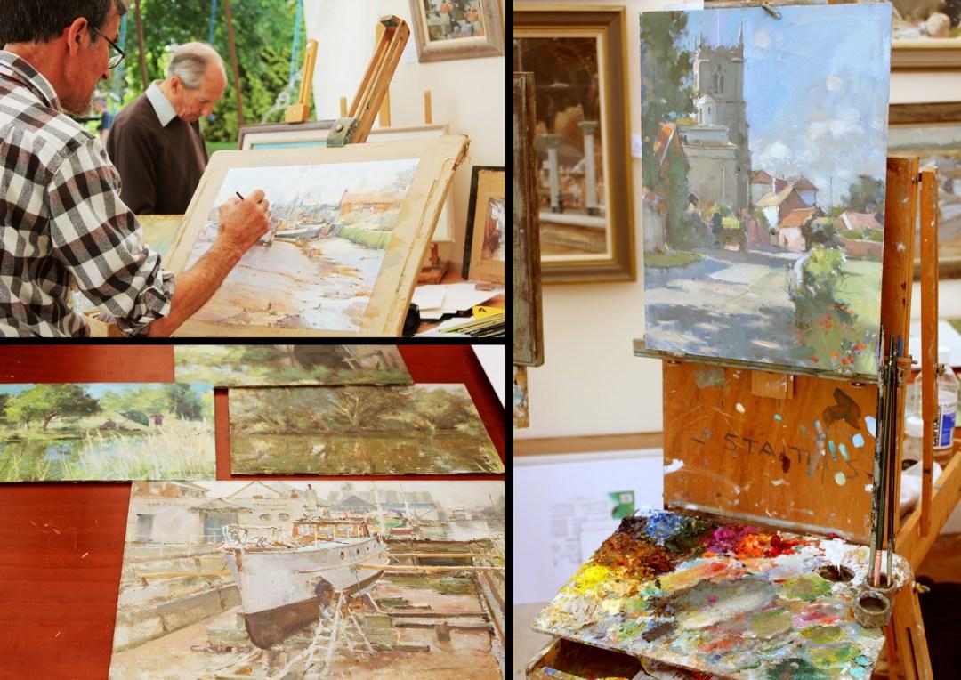 painting demos