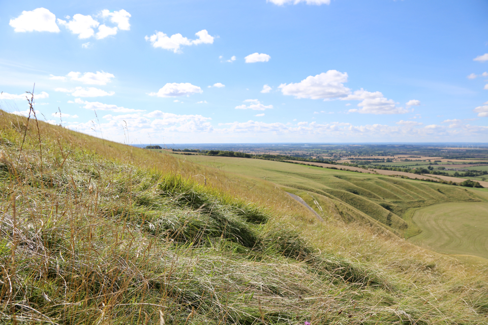 At the White Horse, Uffington