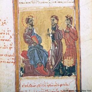 5.Cristo invia Tommaso e Giuda