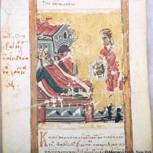 14. Abgar riceve il Mandylion