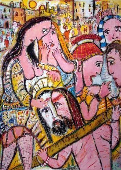 eh-088-jesus-begegnet-auf-dem-kreuzweg-veronika-mit-dem-schweisstuch