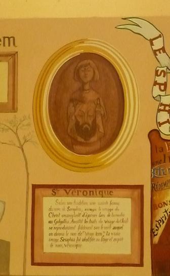 Eglise de Menil Gondouin - Sainte Véronique