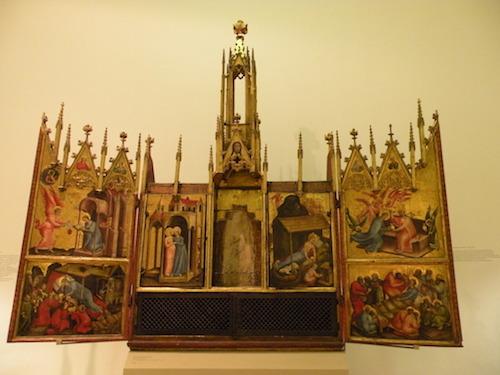 Der Altar von Schloss Tirol-int