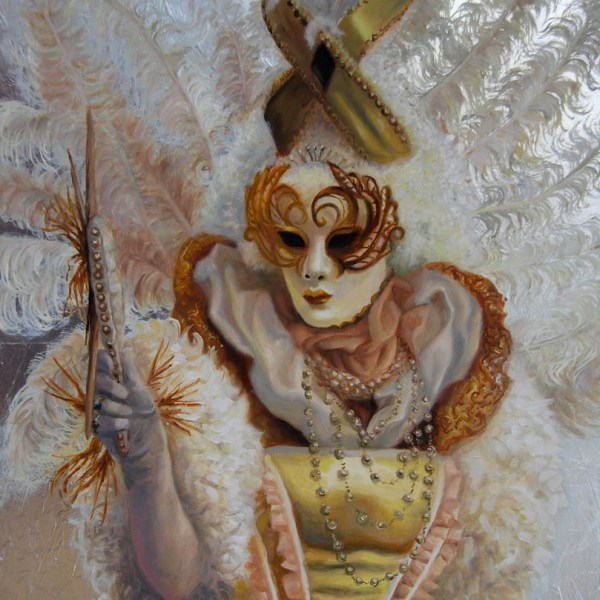 mirror, masquerade in Venice